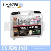 Buy cheap 2017 New Item KF418 Be Smart Get Prepared 250 Piece First Aid Kit for Office, Home, Car, School, Emergency, Survival from wholesalers