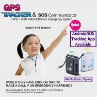 Buy cheap Mini GSM GPS Tracker Child Kids Elderly SOS Emergent Help Communicator Sender W/ product
