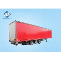 Buy cheap Stainless Steel Buckle Pvc Truck Side Curtain rain-proof tarps from wholesalers