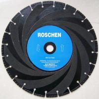 Buy cheap 14 inch Industrial Diamond Cutting Blades for marble , cured concrete from wholesalers