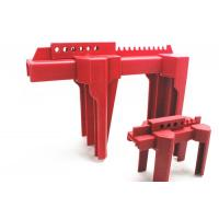 Buy cheap Plastic 2-8 Red Adjustable Ball Valve Safety Lockout Device from wholesalers