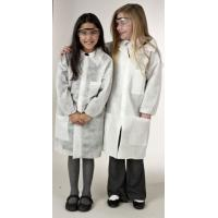 Buy cheap Snap Buttons Disposable Lab Coats , Medical Protective Gown for Children / Adults from wholesalers