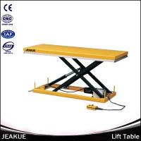 Buy cheap 500kg Large Platform Hydraulic Scissor Electric Motorcycle Lift Table for Sale from wholesalers