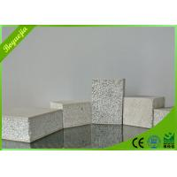 Buy cheap Insulated sandwich foam panels , Interior Partition fireproof cement board from wholesalers