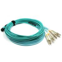 Buy cheap PVC / LSZH Material MPO MTP Cable , Custom Length Fiber Optic Patch Cord Cable from wholesalers