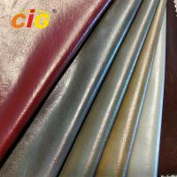 Buy cheap Synthetic PU Leather Garments Leather Fabric Pearly Colors Width 150CM from wholesalers