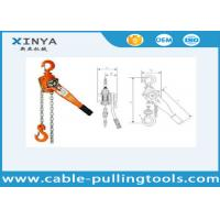 Buy cheap Basic Construction Tools 2 Ton Vital Manual Lever Chain Hoist Block Pulley from wholesalers