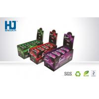 Buy cheap Small Cardboard Display Box Corrugeted Paper Printed Corrugated Retail Counter from wholesalers