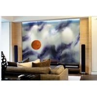 Buy cheap Coloured Laminated Decorative Interior Glass Wall Panels For High Class Hotel from wholesalers