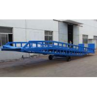 Buy cheap DCQY10 - 0.6 Mobile Loading Hydraulic Dock Leveler for Rated Load 10t product