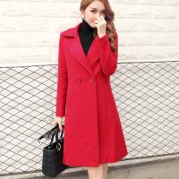 Buy cheap Thickening of ladies wool and cotton turn-down collar coat fashion and casual from wholesalers