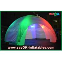 Buy cheap 5 Legs LED Lighting Inflatable Spider Inflatable Dome Tent With CE / UL Blower from wholesalers