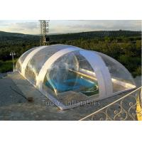 Buy cheap Easy Install PVC Bubble Dome Tent Cover , Inflatable Swimming Pool Dome Tent from wholesalers