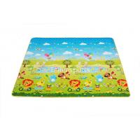 Double Sided Baby Crawling Mat Infants / Baby Floor Play Mat Water Resistance