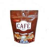 Buy cheap Custom Size Tea Bags Packaging PE Resealable Stand Up Pouches With Zipper from wholesalers