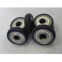 China Iron Core Coating PU Polyurethane Wheels Aging Resistant With Industrial Bisque on sale