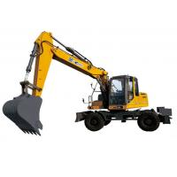 Buy cheap XE150W Excavator heavy Earthmoving Machinery , Road Construction Equipment from wholesalers