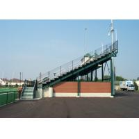Vertical Picket Railing Aluminum Stadium Seats Outdoor Aluminum Bleachers For Spectator