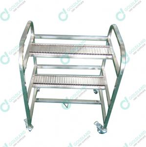 China FUJI XP Stainless Steel SMT Feeder Trolley on sale