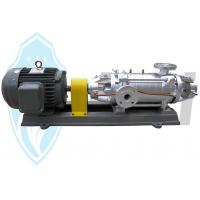 Buy cheap Industrial Horizontal Multistage Centrifugal Pump Stainless Steel For Chemical Transfer from wholesalers