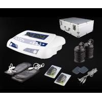 Buy cheap Home Use Dual Detox Foot Spa with Massage Belts and Pads Carrying Aluminium Case 20V 6A from wholesalers