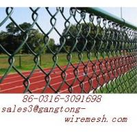 Buy cheap Tennis Court Fence - chain link mesh from wholesalers