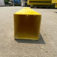 Buy cheap FRP GRP Profile,Fiberglass customized square Tube for Industries from wholesalers