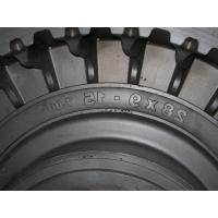 Buy cheap personalized Forklift Solid forging steel Tire Mold , EDM molding product