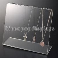 Buy cheap Counter Necklace Acrylic Jewelry Holder Retail Merchandising Fixtures from wholesalers
