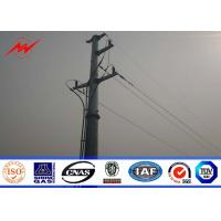 Buy cheap 132KV Metal Transmission Line Electrical Power Poles 50 years warrenty from wholesalers
