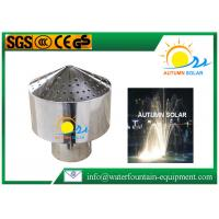 Buy cheap Fireworks Style Fountain Spray Heads Stainless Steel Radiation Shaped Structure from wholesalers