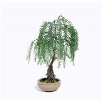 Buy cheap Weeping Willow Imitation Bonsai Trees Non Toxic Strong UV Resistance from wholesalers