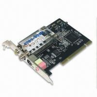 Buy cheap PCI TV Tuner Card with Dolby Digital AC3 and Plug-and-play Function from wholesalers