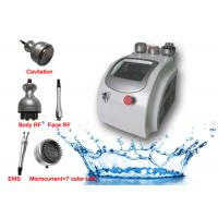 Buy cheap Radio Frequency BIO Microcurrent Facial Lifting Machine Plus Body Slim Cavitation Therapy from wholesalers