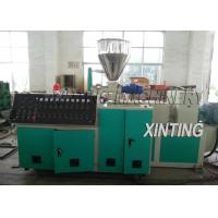 Buy cheap Double Screw PVC Pipe Production Line 90-420kw Durable For Drainage Pipe from wholesalers