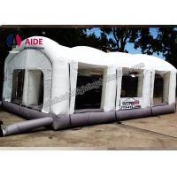 Buy cheap Open Face Dry Blow Up Spray Booth / Portable Auto Paint Booth For Mechanical Workshop from wholesalers