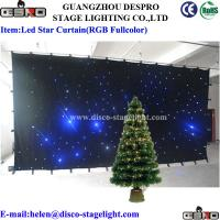 Buy cheap Twinkly LED Drape Drape Curtain Lighting Theater Stage Fairy Light Curtain from Wholesalers