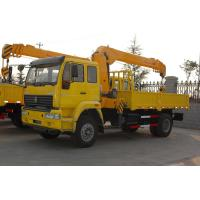Buy cheap Sinotruk Howo7 Chassis 25 Ton Truck Mounted Crane 6x4 Hydraulic Steering from wholesalers