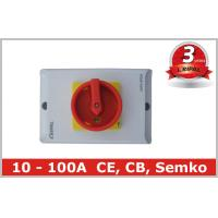 Buy cheap PC Safety 3 Pole 63 Amp Rotary Isolator Switch for Power Distribution from wholesalers