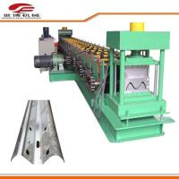 Buy cheap Full Automatic Steel Highway Guardrail Roll Forming Machine 0-12m/Min Speed from wholesalers