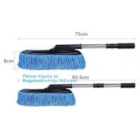 Buy cheap Auto wheel wool brush for washing wheel , car sheepskin cleaning brush, Rotating soft bristle car wash brush microfiber from wholesalers