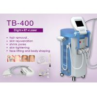 Buy cheap 4 Handpieces E-light IPL RF Nd Yag Laser Beauty Machine For Hair / Wrinkle / Tattoo removal from wholesalers