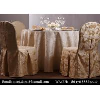 Buy cheap New Style Vinyl Table Cover Indian Round Table Cloth For Wedding from wholesalers