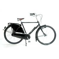 Buy cheap Men Classic 26 inch Whee Black OMA Dutch Bike With Dynamo Light from wholesalers