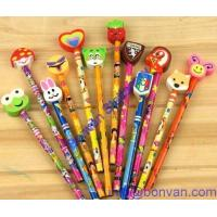 Buy cheap safety gift children pencil eraser,non toxic pencil eraser, pencil head rubber eraser from wholesalers