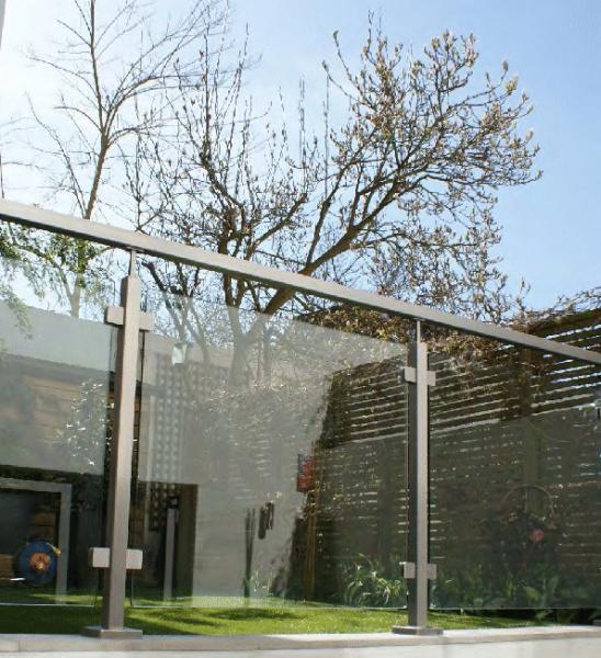Quality Stainless Steel Glass Railing Handrail Balustrade / Railing for sale