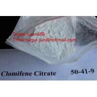 Buy cheap Legal Oral Muscle Building Anti Estrogen Steroids Clomifene Citrate Powder Source 50-41-9 Clomid from wholesalers