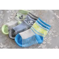 Buy cheap Popular Jacquard patterned design cotton socks for baby from wholesalers