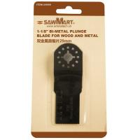 Buy cheap 1-1/8 in. Bi-metal Oscillating Multi-Tool plunge blade for wood and metal from wholesalers