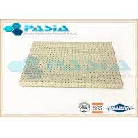 Buy cheap PVDF Painted Aluminium Honeycomb Panel with Edge Wood Frame Sealed for Signage Use from wholesalers